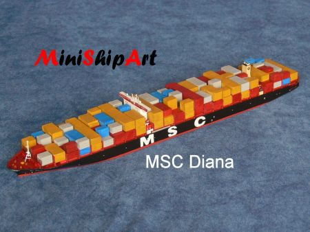 minishipart Harry Piel container ship Containerschiff scale 1/1250